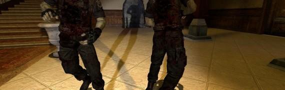 Resident Evil Zombie Wesker