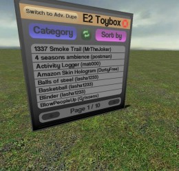 E2 Toybox v2 For Garry's Mod Image 1