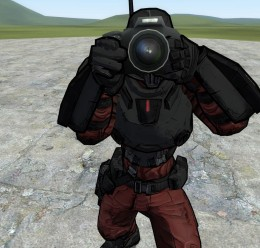 Crimson Lance Playermodel For Garry's Mod Image 1