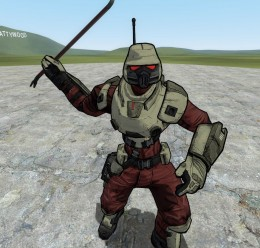 Crimson Lance Playermodel For Garry's Mod Image 2