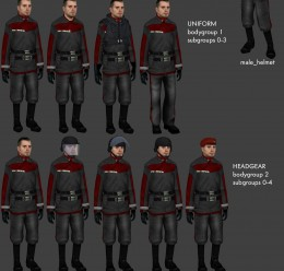 Sci-Fi Uniforms v3 For Garry's Mod Image 1