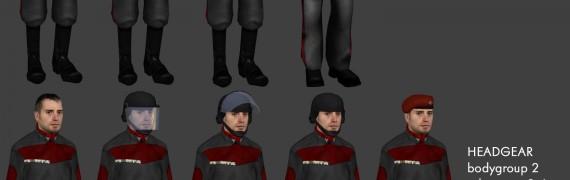 Sci-Fi Uniforms v3