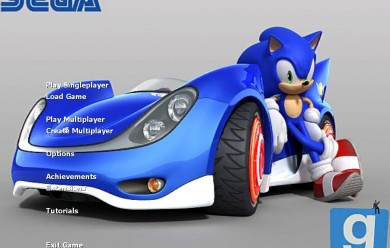Sonic background+music For Garry's Mod Image 2