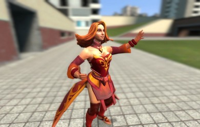 Dota 2 - Lina For Garry's Mod Image 2