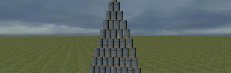 barrel_wall.zip For Garry's Mod Image 1