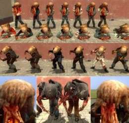 Zombie model pack HEXED For Garry's Mod Image 1