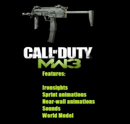 MW3-style MP7 For Garry's Mod Image 1