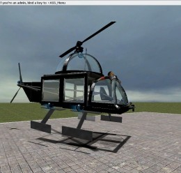 black_heli.zip For Garry's Mod Image 1