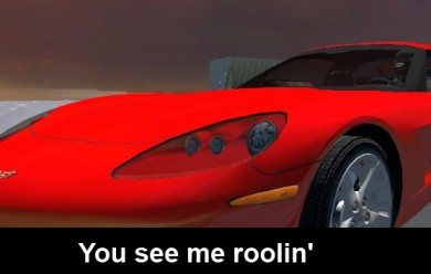 red_skin_corvette.zip For Garry's Mod Image 2