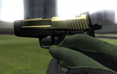 Golden USP 45 Match For Garry's Mod Image 1