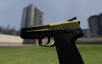 Golden USP 45 Match For Garry's Mod Image 2