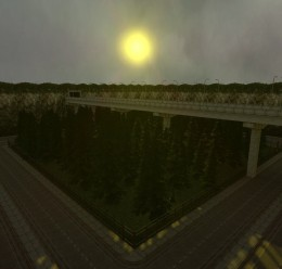 gm_forest_road_v1.zip For Garry's Mod Image 1
