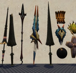mh3_weapons_final.zip For Garry's Mod Image 1