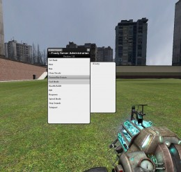 Frosty's Server Admin Mod 1.5 For Garry's Mod Image 1