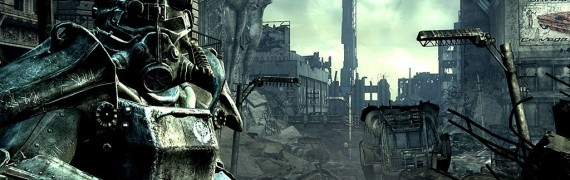 Fallout 3 background  + music!