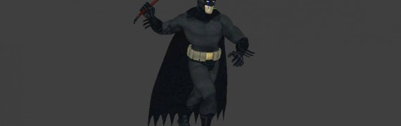 Hexed Batman skin and player