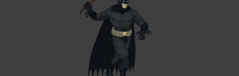 Hexed Batman skin and player For Garry's Mod Image 1