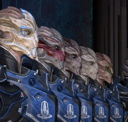 Turian Female C-Sec hexed For Garry's Mod Image 2