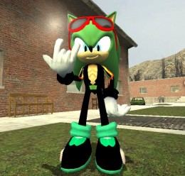 Scourge the hedgehog hexed. For Garry's Mod Image 1