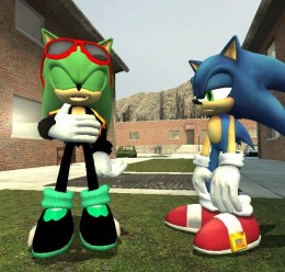 Scourge the hedgehog hexed. For Garry's Mod Image 2