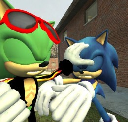 Scourge the hedgehog hexed. For Garry's Mod Image 3