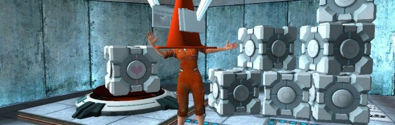 portal_cone_background.zip For Garry's Mod Image 1