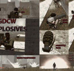 GDCW Explosives For Garry's Mod Image 1