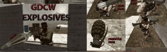 GDCW Explosives