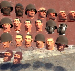 Meet The Soldier Props For Garry's Mod Image 1