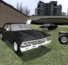1966_chevrolet_chevellee.zip For Garry's Mod Image 1
