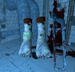 saw_hacksaw_and_gordon's_foot_ For Garry's Mod Image 1