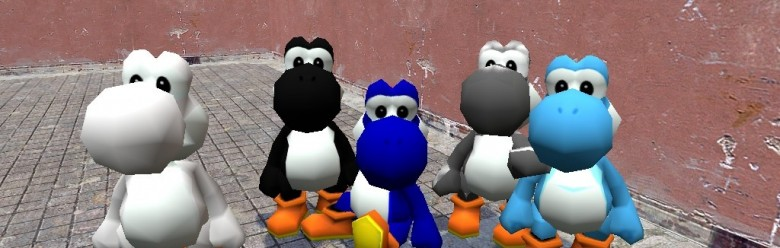 pariahs_yoshis.zip For Garry's Mod Image 1