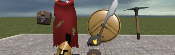 TF2 Spartan Soldier items hexe