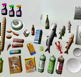 Food And Household items v1.2 For Garry's Mod Image 2