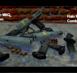 Halo Reach M6G and Knife PROPS For Garry's Mod Image 1