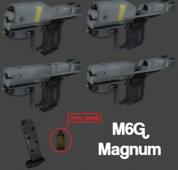 Halo Reach M6G and Knife PROPS For Garry's Mod Image 2