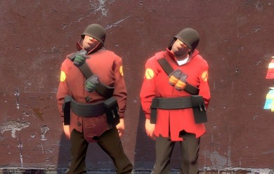 tf2_vulgar_vigilante_soldier_s For Garry's Mod Image 1