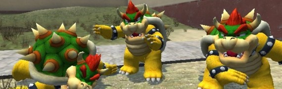 galaxy bowser re texture
