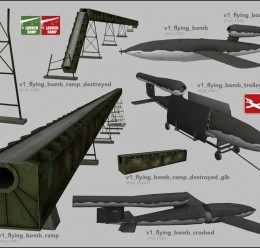 V1 Flying Bomb Pack For Garry's Mod Image 2