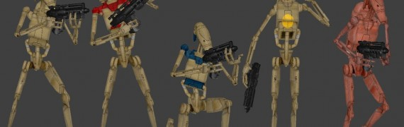 Battledroid Ragdolls & Players