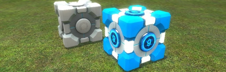 metalcube_bluecore.zip For Garry's Mod Image 1
