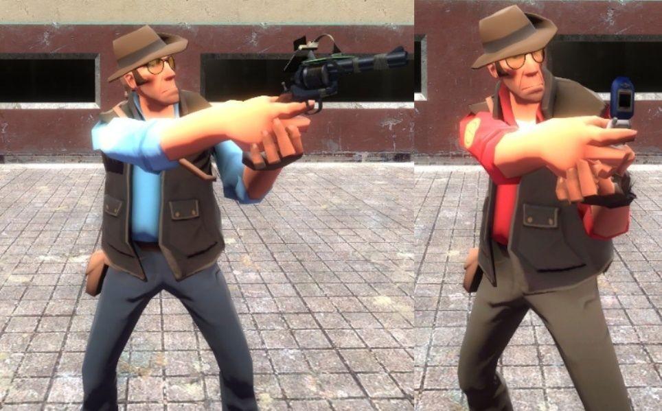 скачать мод на гаррис мод 13 на оружие из Tf2 - фото 3