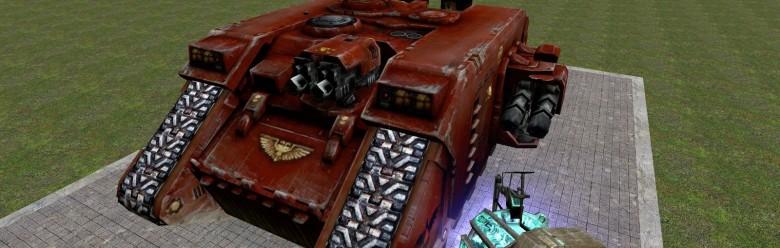 warhammer_tank.zip For Garry's Mod Image 1