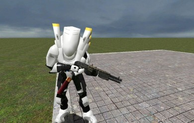Type 202 white NPC.zip - For Garry's Mod Image 2