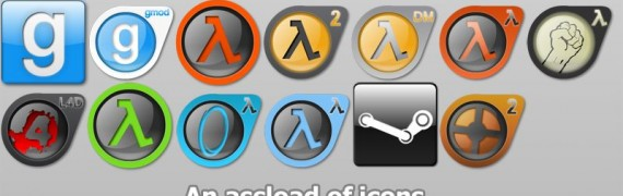 Steam & Source Icon Redux FULL