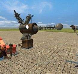 steampunk_turret.zip For Garry's Mod Image 3