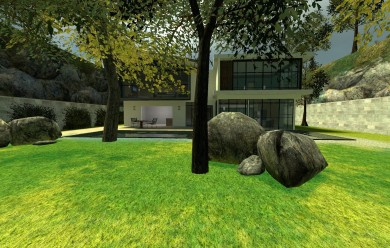 Gm Modern House V2 For Garry's Mod Image 1
