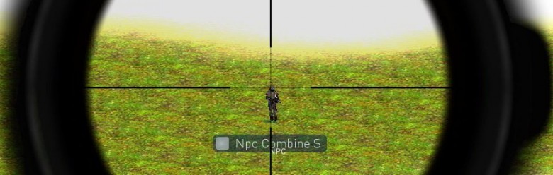 Sniper Kit Scope Texture Fix For Garry's Mod Image 1