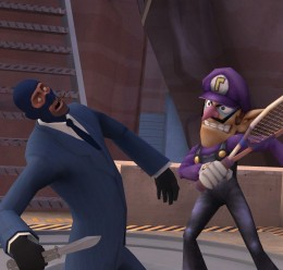 Super Smash Bros Waluigi Beta For Garry's Mod Image 1