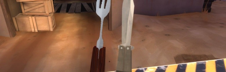 tf2_silver_fork_hexed.zip For Garry's Mod Image 1
